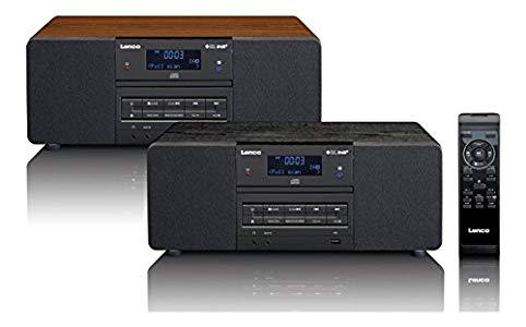 Lenco DAB+ Digitalradio mit CD-Player DAR-050, PLL FM ...