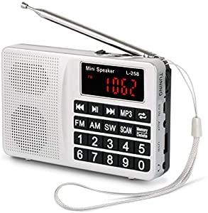 Showermate Wireless Bluetooth Lautsprecher Wasserdichtes Duschradio mit Freisprecheinrichtung und eingebautem Mikrofon Schwarz und Wei/ß Kompatibel mit allen Bluetooth Ger/äten
